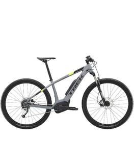 Trek Powerfly 4 (šedá) 2019